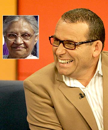 Paul Henry and, inset, Sheila Dikshit