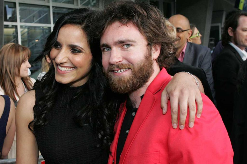 Liam Finn and Madeline Sami arrive at the Vodafone New Zealand Music Awards