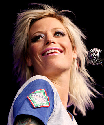SCORE OF FOUR: Gin Wigmore has taken home four Tui gongs at the New Zealand Music Awards.