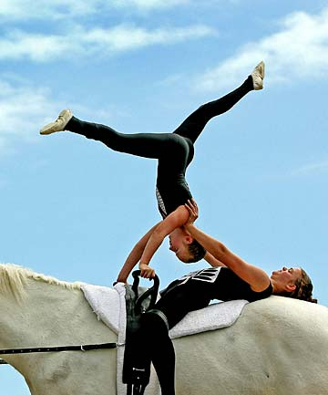 Gymnastics On Horseback Is No Circus Act Stuff Co Nz