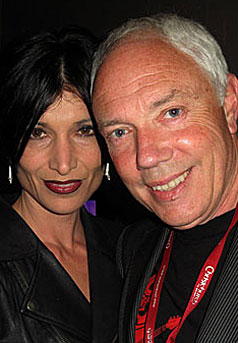 Bob Parker and wife Joanna Nicholls-Parker