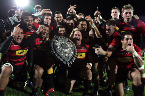 Ranfurly Shield challenge.