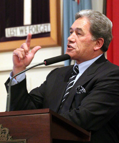 ONE VIEW: Winston Peters has recently declared he would ban the foreign ownership of rest homes.