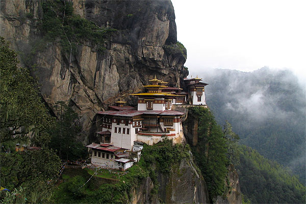 Being Buddhist The Tigers Nest Monastery In Bhutan