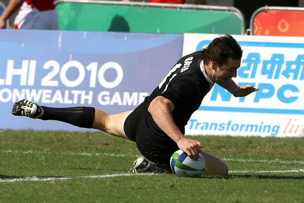NZ sevens action from the Commonwealth Games