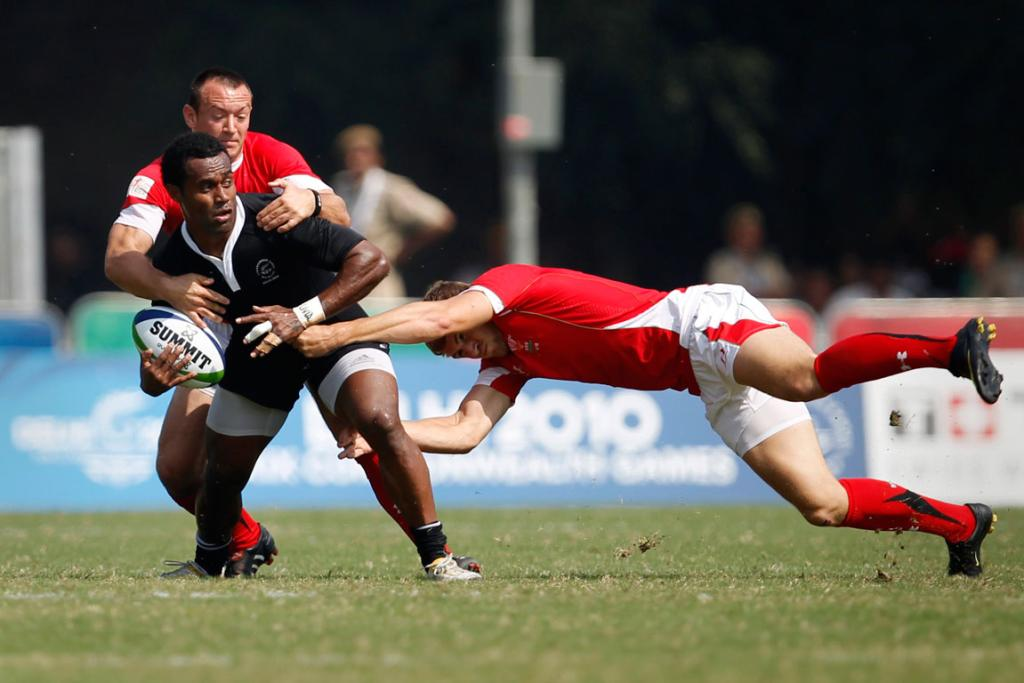 NZ sevens action