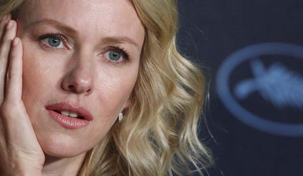 BLONDE AMBITION: Naomi Watts is set to play Marilyn Monroe.