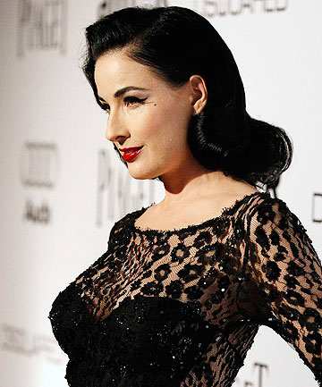 GIRLS ON FILM: Dita Von Teese fears Christina Aguilera's new film will sour people's attitudes towards the burlesque profession.