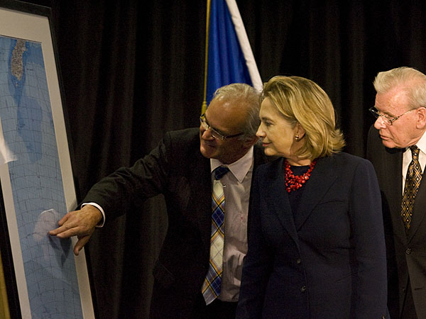 Hillary Clinton visits Christchurch