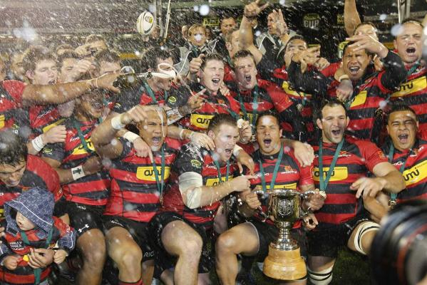 ITM Cup champions Canterbury