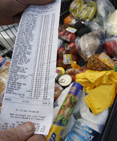 Food prices rose 16% in the year to October.