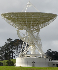 BIG POTENTIAL: Converting the antenna into a radio telescope will strengthen  the Australasian case for the Square Kilometre Array.