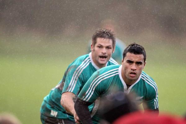 Richie McCaw and Liam Messam