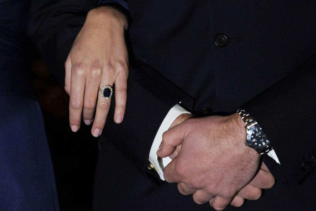 Reuters Images of the Year, photo of Prince William and Kate Middleton with rings.
