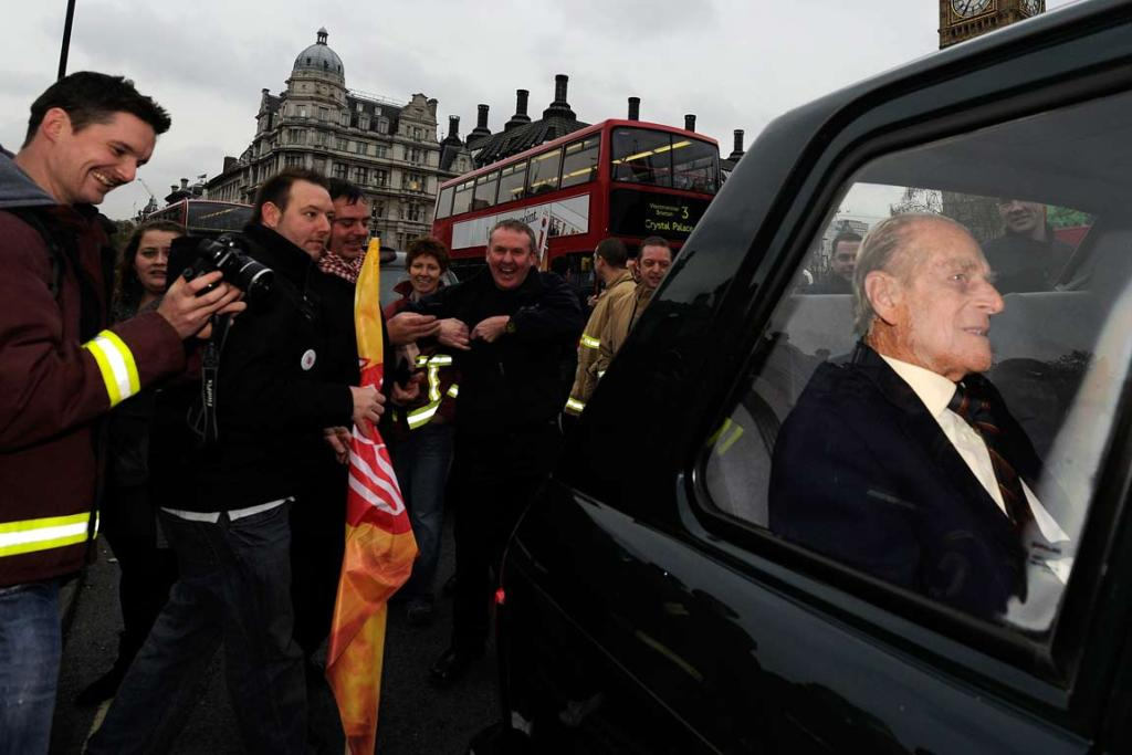 Reuters Images of the Year, photo of Prince Phillip.