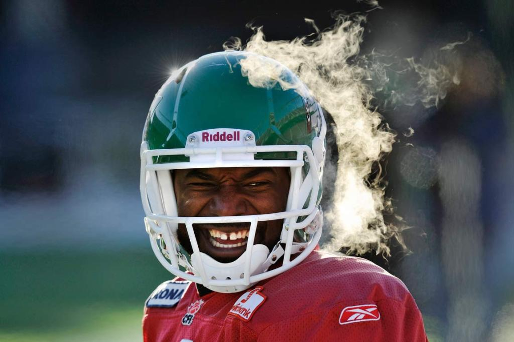 Reuters Images of the Year, photo of Darian Durant.