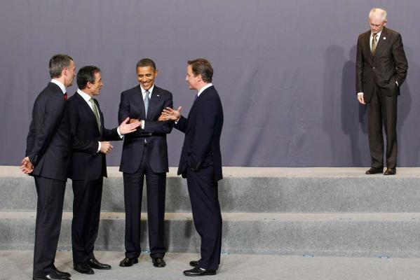 Reuters Images of the Year, photo of NATO summit.