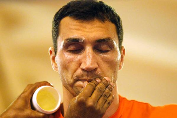 Reuters Images of the Year, photo of Klitschko.
