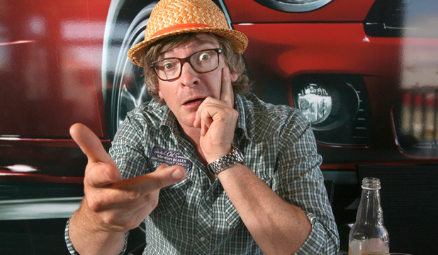 Rhys Darby is going from comic to romantic lead.