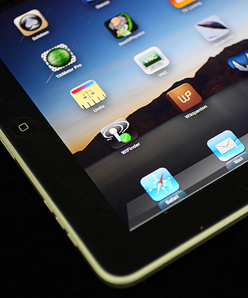 REVAMP: A new iPad to be released in 2011 will feature a camera.