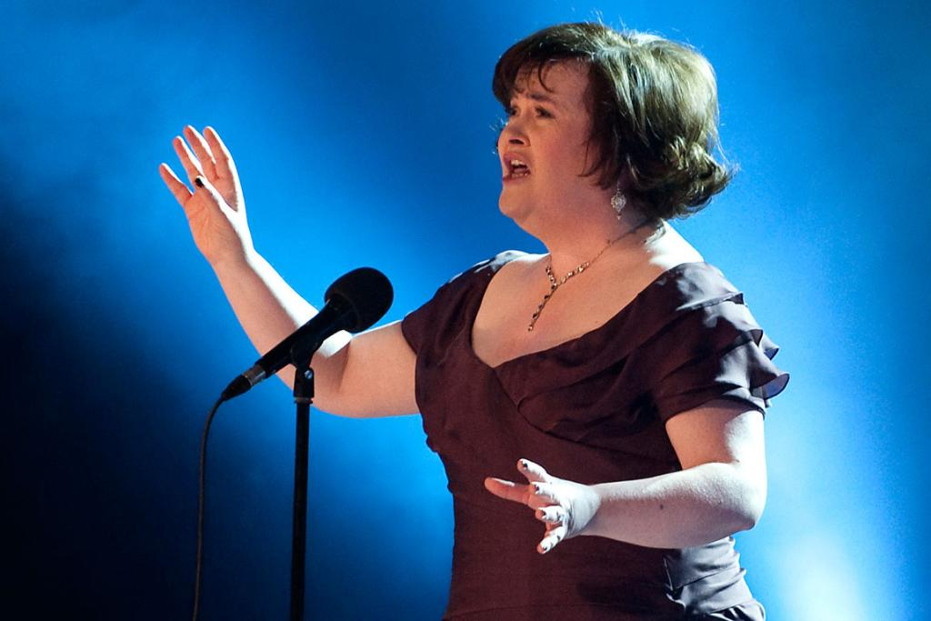 BIZZARE BOYLE: British singing sensation Susan Boyle stunned passengers and staff at London's Heathrow Airport with her bizarre antics in January. She sang and danced and was asked to calm down by airport staff.