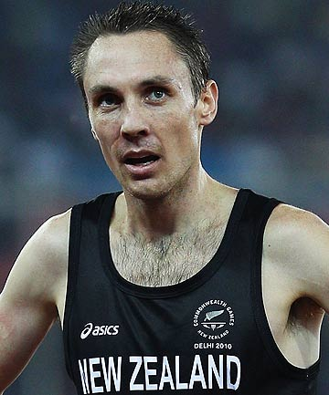 NZ middle distance running star Nick Willis.