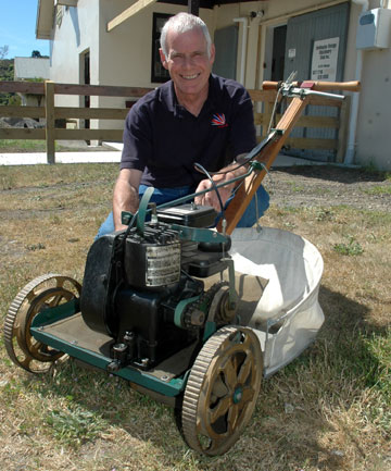 Club Preserves Memory Of Pioneer Of Motor Mowers Stuff Co Nz