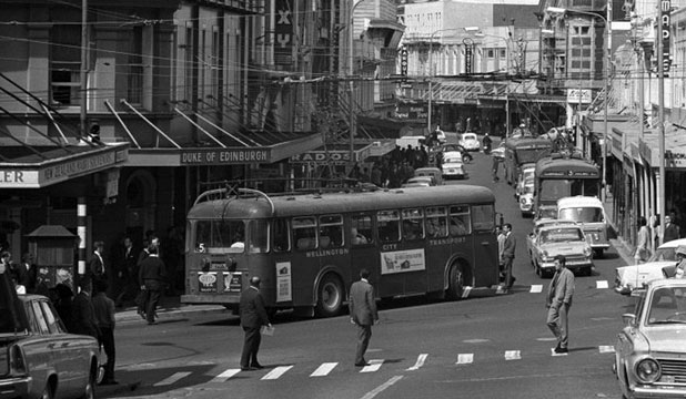 The Story Behind The 1960s Bus Photo