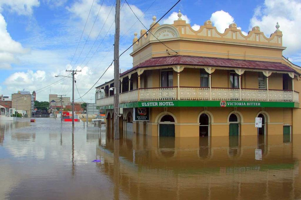 Stuff.co.nz reader Robert Knight sends us this picture of flooded central Ipswich.
