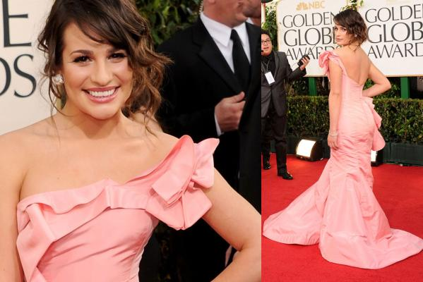 Golden Globes - Lea Michele