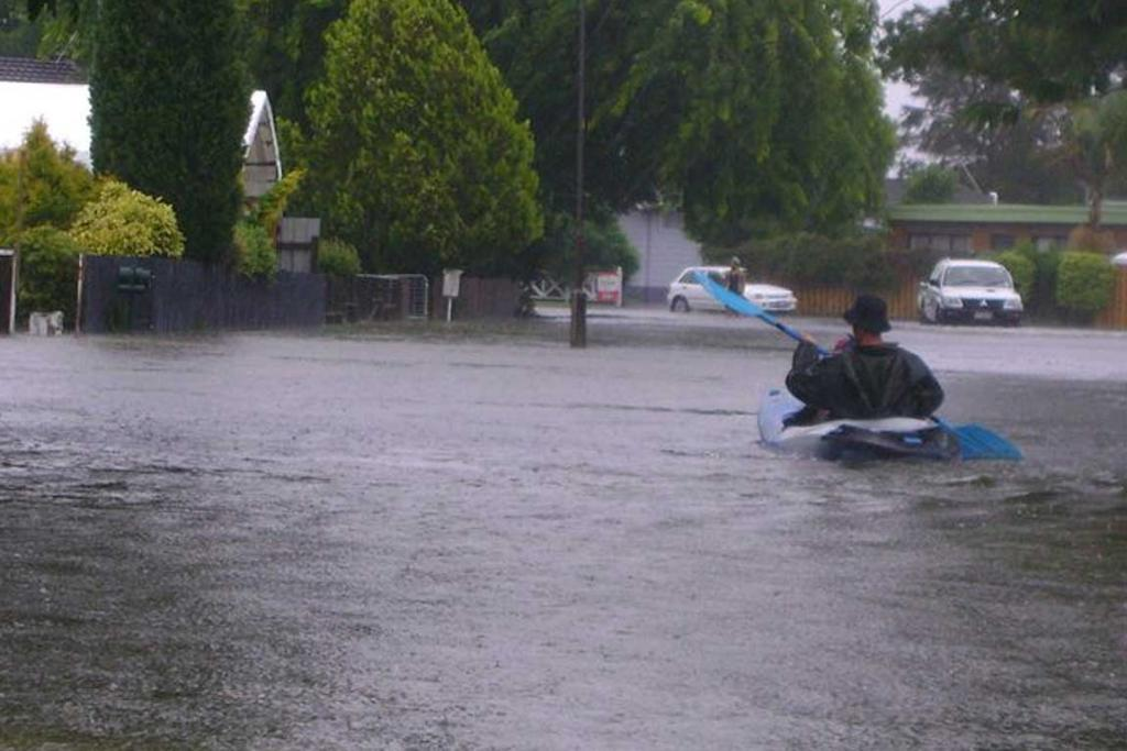 WILD WEATHER: Matipo Place in Edgecumbe in the Bay of Plenty.