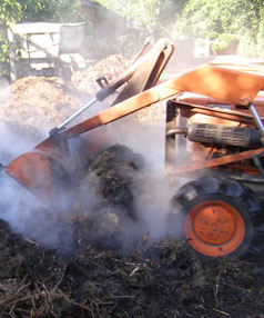 Hot compost: A step-by-step guide with Abbie and Mark Jury