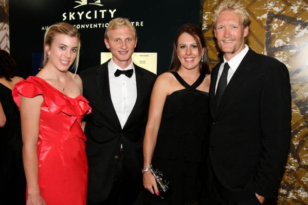 Lizzie Travis, Hamish Bond, Jackie Murray and Eric Murray