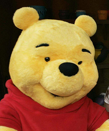 A ROMANTIC: A quote by Winnie-the-Pooh has been voted the second most romantic in Britain.