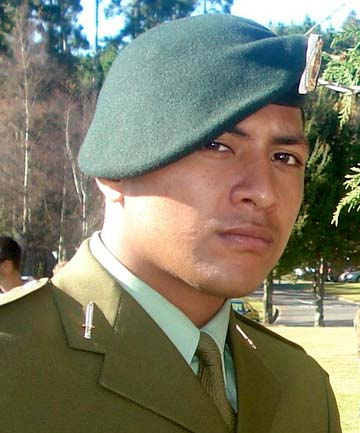 FALLEN SOLDIER: Private Kirifi Mila.