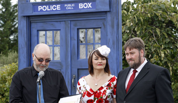Doctor Who-themed wedding