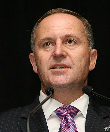 JOHN KEY: Said any welfare changes were unlikely to be in place before the election.
