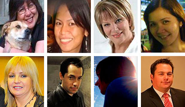 "SOME OF THE MISSING: Elsa Torres Defrood, Emmabelle Anoba, Jo Giles, Rhea Sumalpong, Donna Manning, Matty Beaumont, Isaac Thompson and Samuel Gibb. More on those missing <a title=""http://www.stuff.co.nz/national/christchurch-earthquake/the-missing/"" href=""http://www.stuff.co.nz/national/christchurch-earthquake/the-missing/"" target=""_blank""><strong>here</strong></a>."