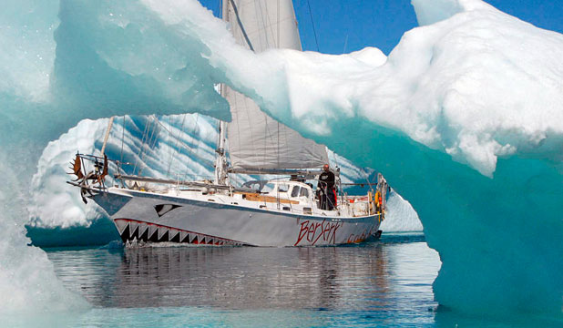 GONE: The Norwegian yacht Berserk disappeared in Antarctic waters over a week ago. Three of its crew are believed to have perished as well.