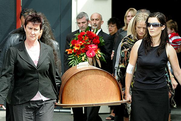 Christchurch earthquake victim Jaime Gilbert's funeral