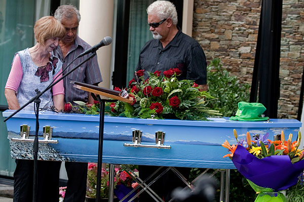 Christchurch earthquake victim Joe Pohio's funeral