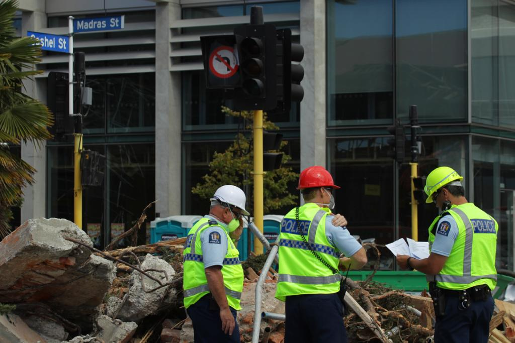 Christchurch earthquake: cordon duty