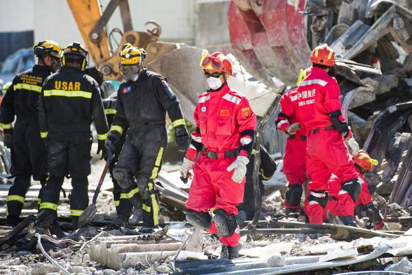 USAR team at work