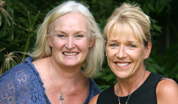 SAFE NOW: Mary Upritchard, left, and Mary-Ann Vulinovich have a new appreciation of home after holidaying in Egypt