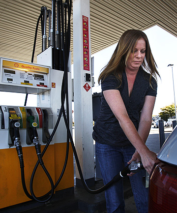 PUMPED: A transport lobby group predicts that higher fuel prices, caused by uncertainty in the Middle East and North Africa,  will cause retailers to push up prices to recover costs.