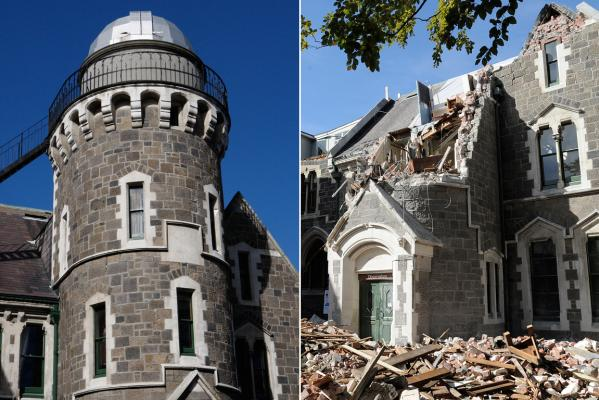 Christchurch earthquake: Arts centre