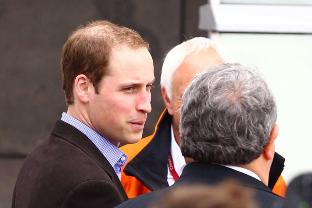Prince William visits quake-ravaged Christchurch.