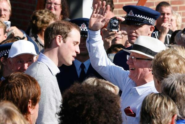 Prince William visit