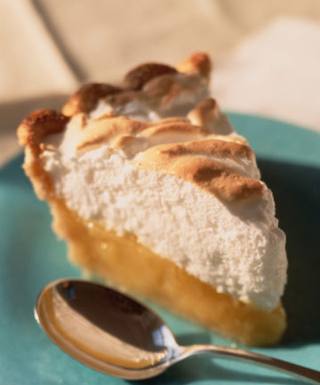 ALWAYS IN FASHION: Lemon meringue pie has a history of success in the Holst family.