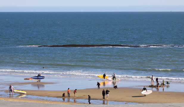 Bournemouth's artificial surf reef